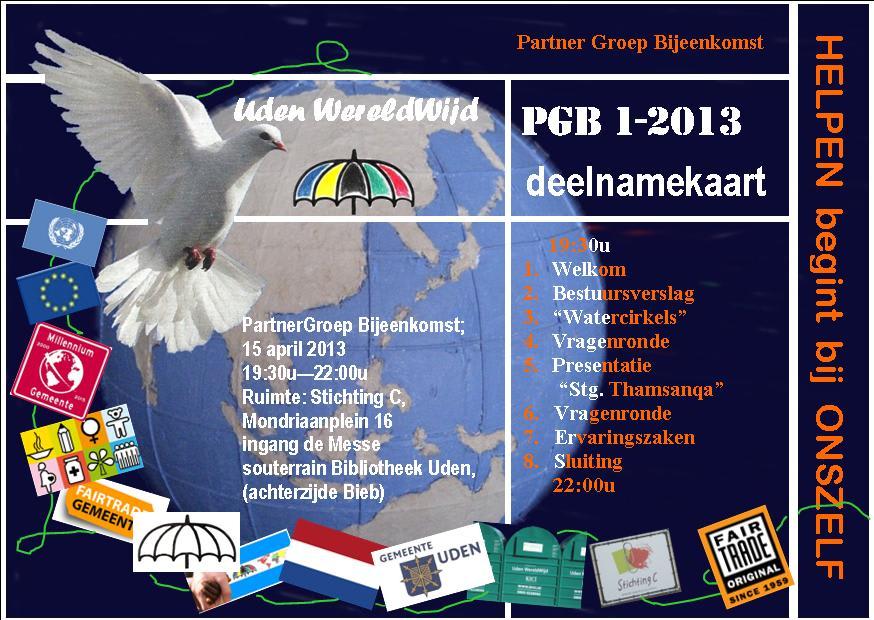 UITNODIGING PGB 1-2013